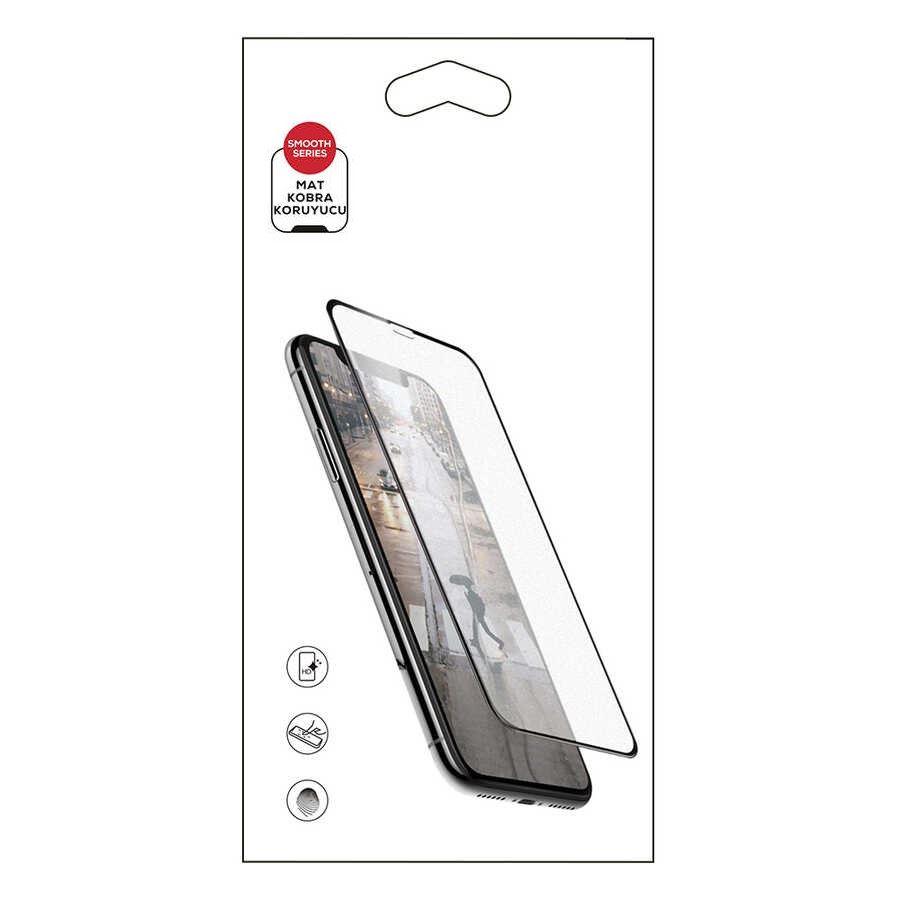 iPhone XS Mat Kobra Ekran Koruyucu