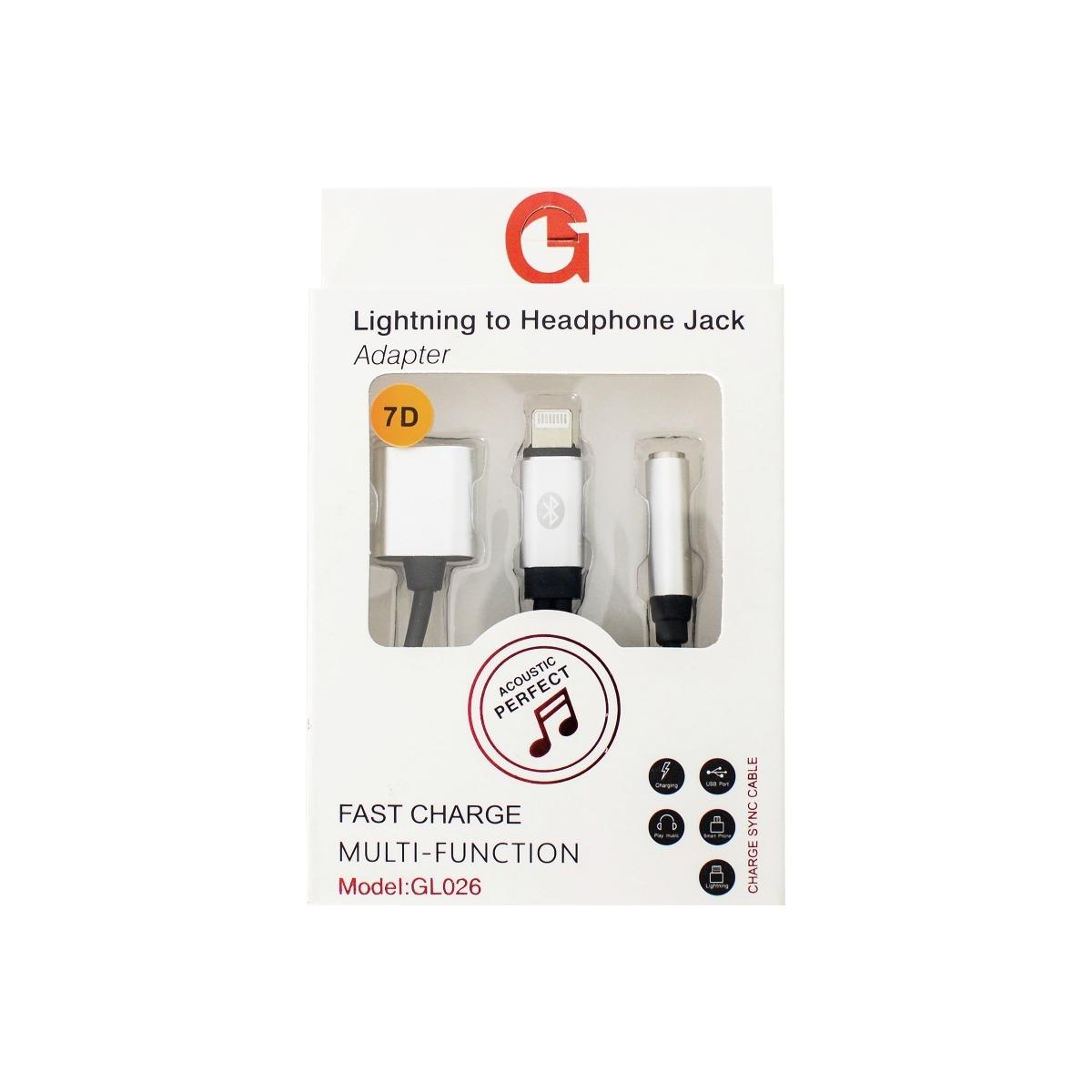 GL026 Lightning To Headphone Jack Dönüştürücü Connector