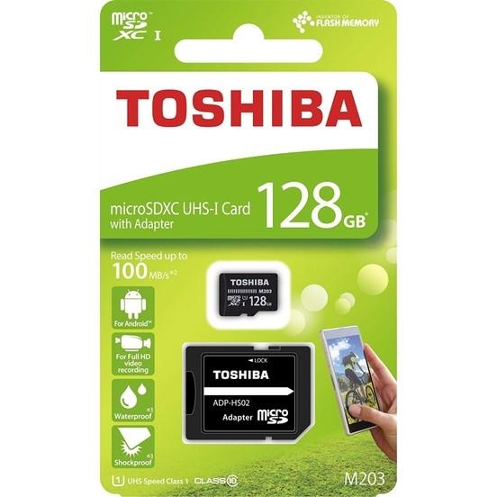 128 GB MİCRO TOSHİBA HAFIZA KARTI