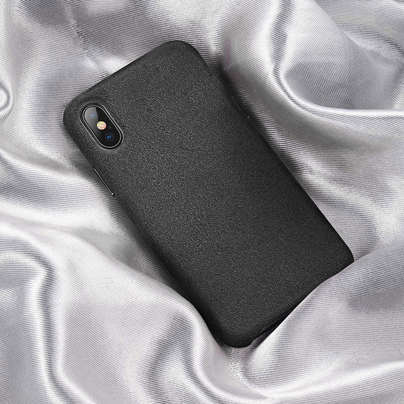 Baseus Original super fiber case For iPX XS 5.8inch Black WIAPIPH58-YP01
