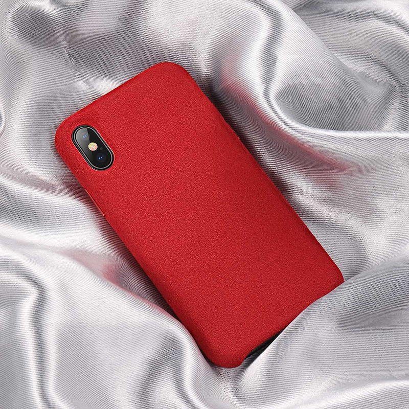 Baseus Original super fiber case For iPX XS 5.8inch Red WIAPIPH58-YP09