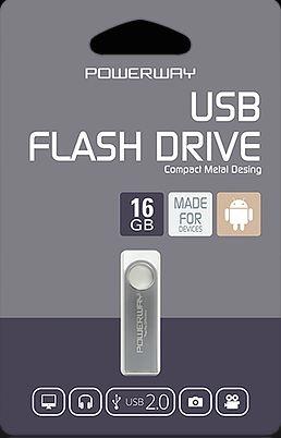 16 GB POWERWAY FLASH BELLEK