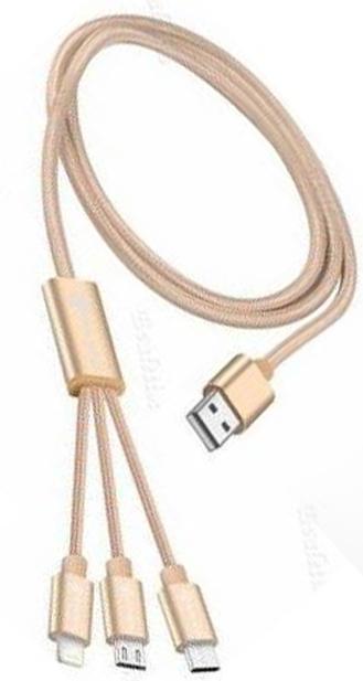3 IN 1 USB KABLOSU( IOS & MİCRO & TYPE-C )