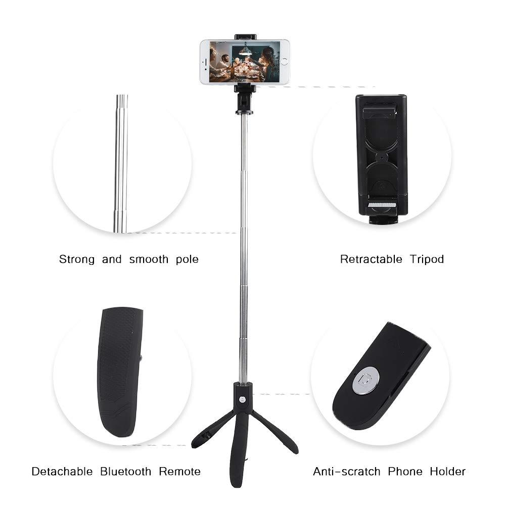 Mini Portable design Selfie Stik ( Bluetoothlu selfie )