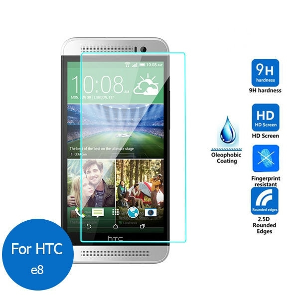 HTC ONE E8 Temperli Cam Ekran Koruycu
