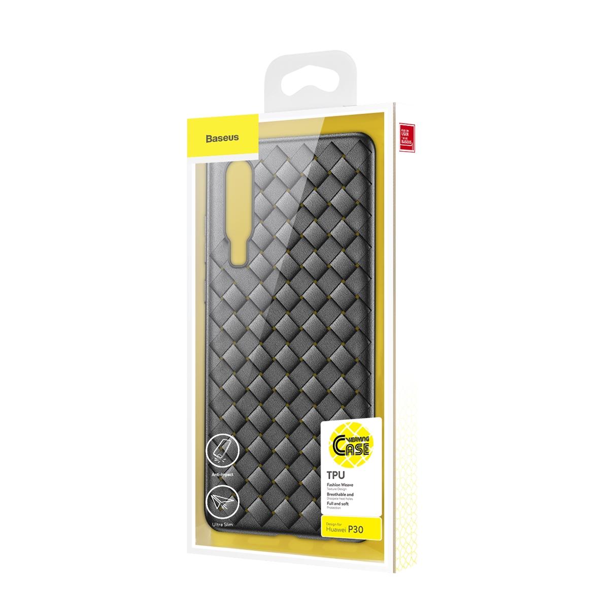 Huwei P30 Baseus BV Weaving Case WIHWP30-BV01 Black