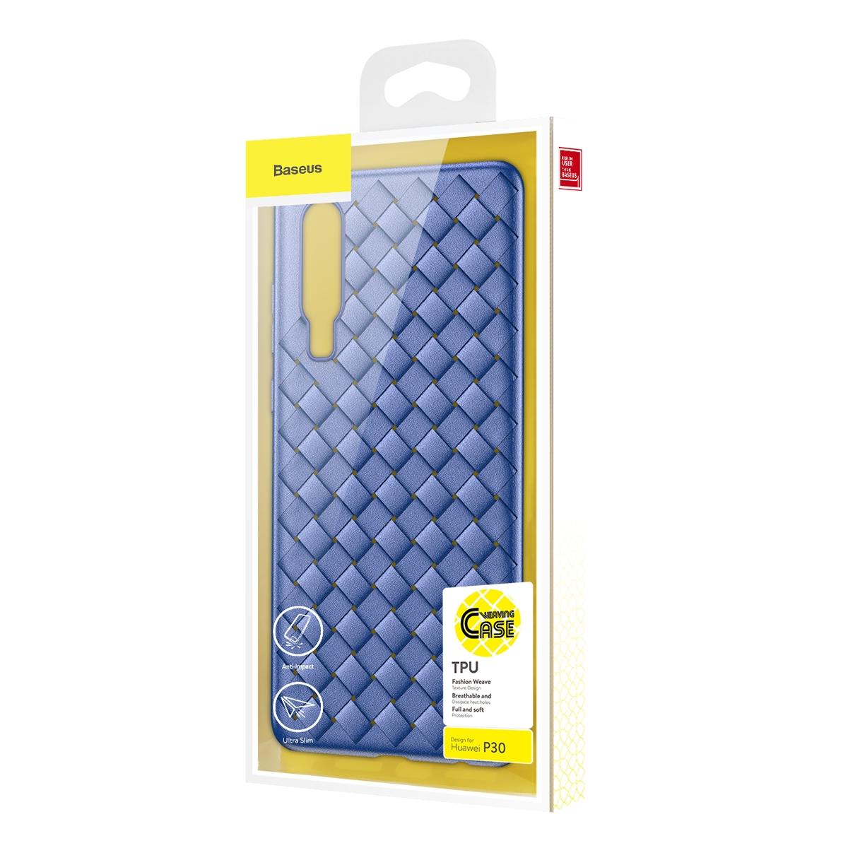 Huawei P30 Baseus BV Weaving Case WIHWP30-BV03 Blue