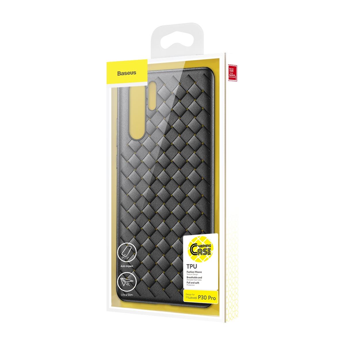 Huawei P30 Pro Baseus BV Weaving Case WIHWP30P-BV01Black