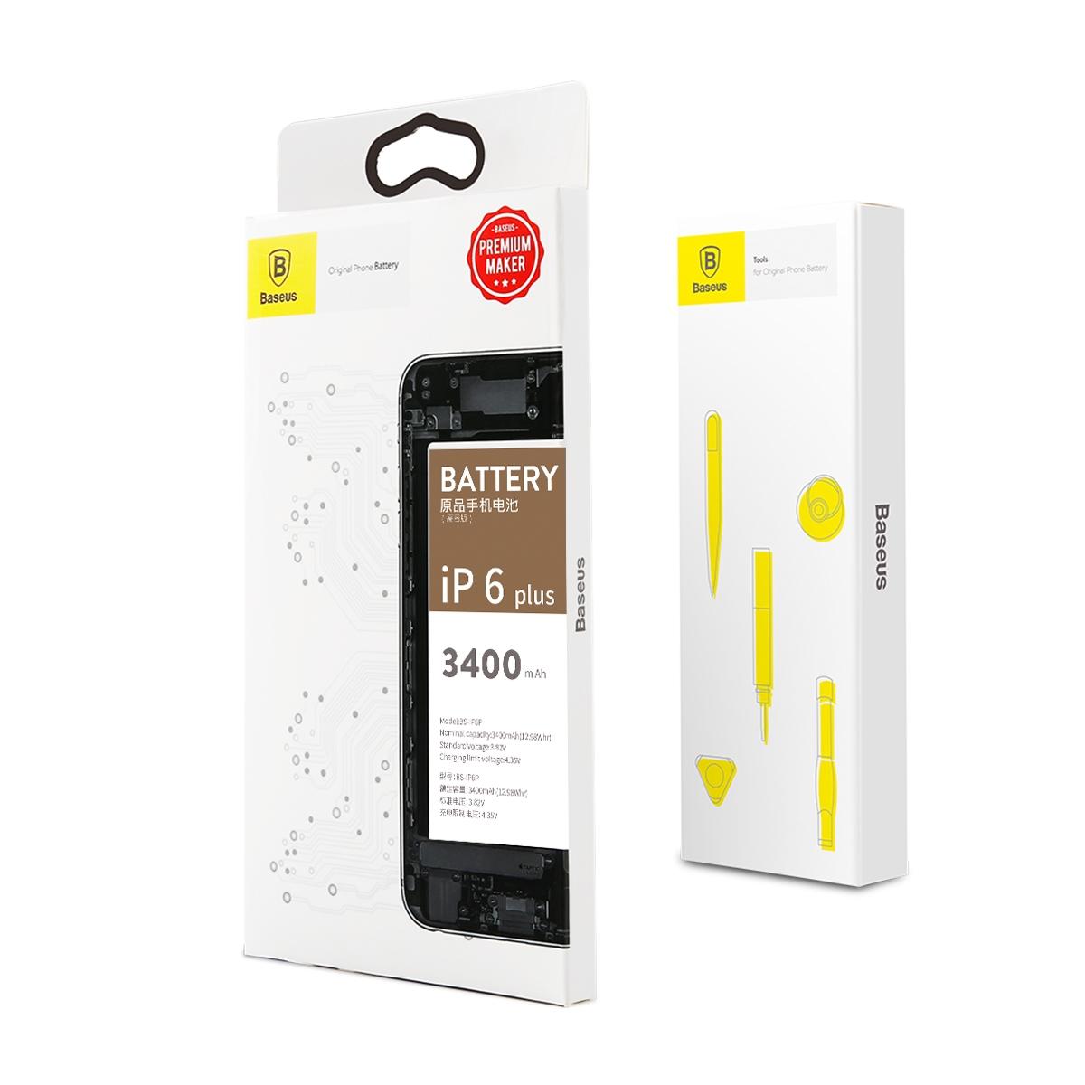 iPhone 6 Plus Baseus High volume Phone Battery 3400mA ACCB-BIP6P