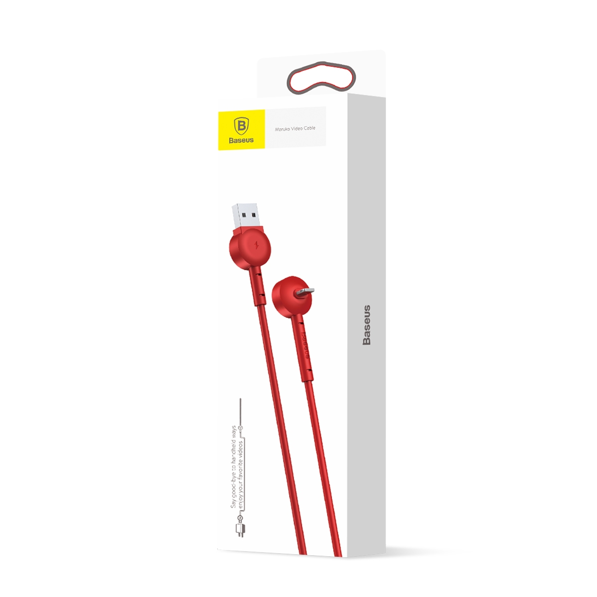 Baseus Maruko Video Cable red CALQX-09
