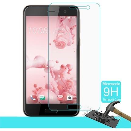 HTC UPLAY Temperli Cam Ekran Koruycu