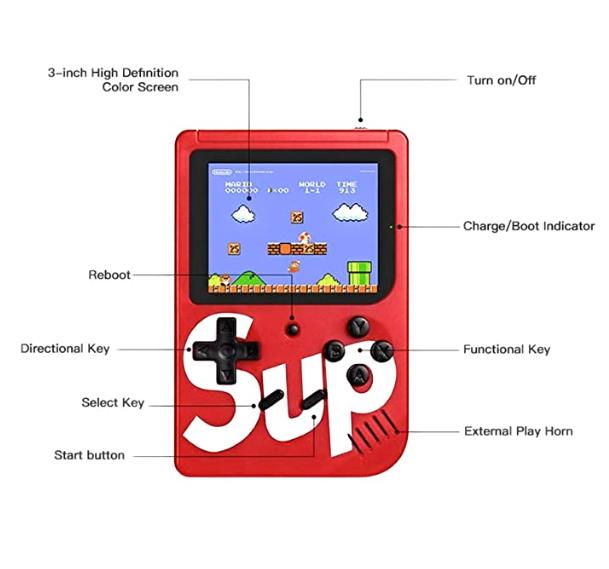 Sup Game Box Plus Mini Atari ( OYUN KUTUSU ) 400 in 1