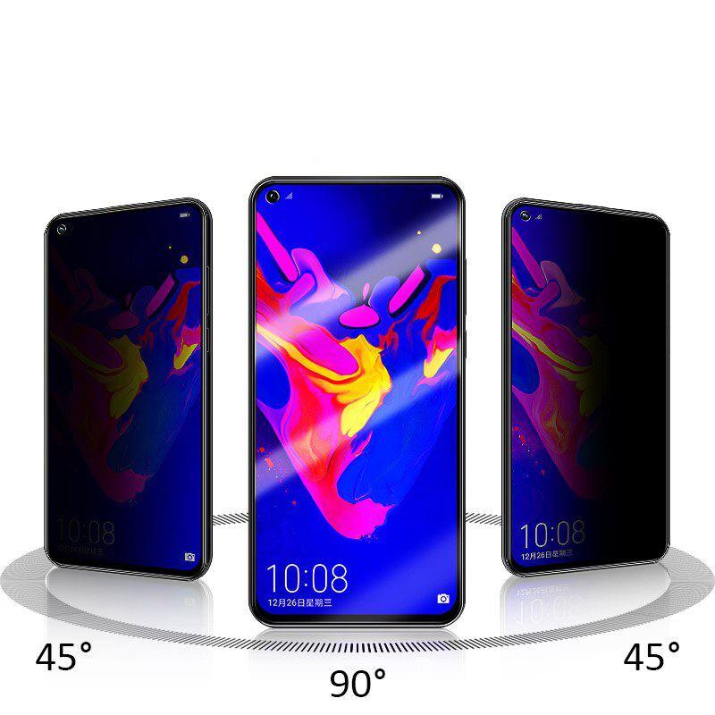 Huawei Honor 20 Privacy 5D ( Hayalet ) Temperli Ekran Koruyucu