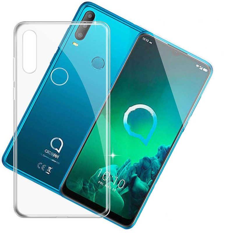ALCATEL 3X 2019 Süper Silikon Koruma