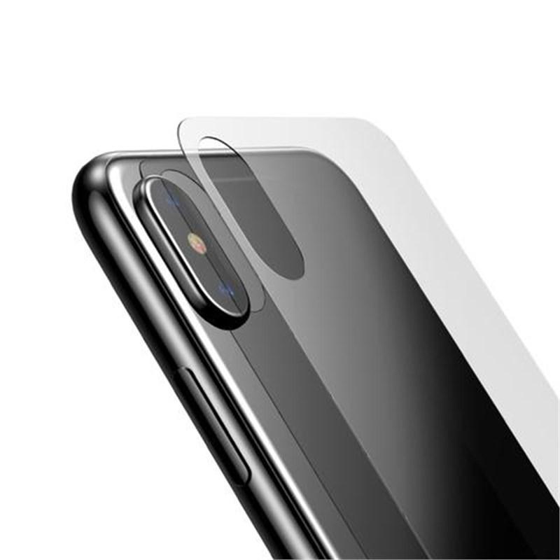 iPhone X ARKA Temperli Cam Ekran Koruycu