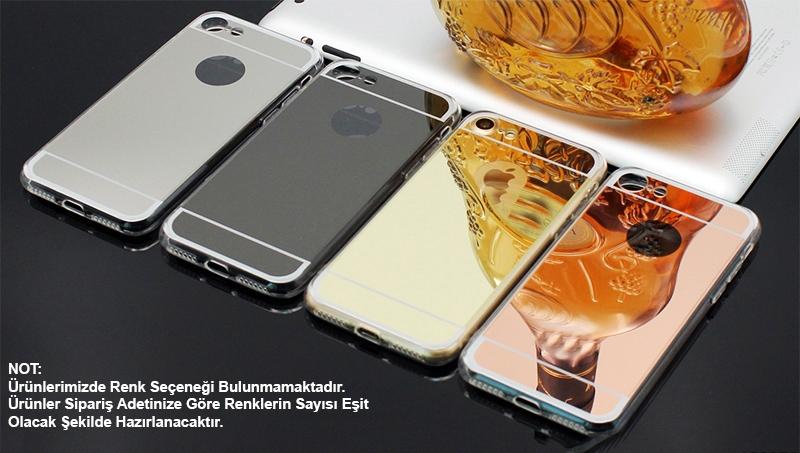 iPhone 6 Plus AYNALI SİLİKON KORUMA