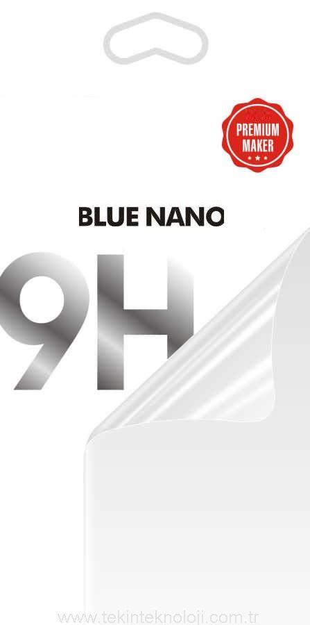 iPhone XS MAX ARKA ( BACK ) Blue Nano Ekran Koruyucu