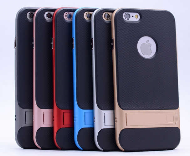 iPhone 6 Verus Standlı Silikon Koruma