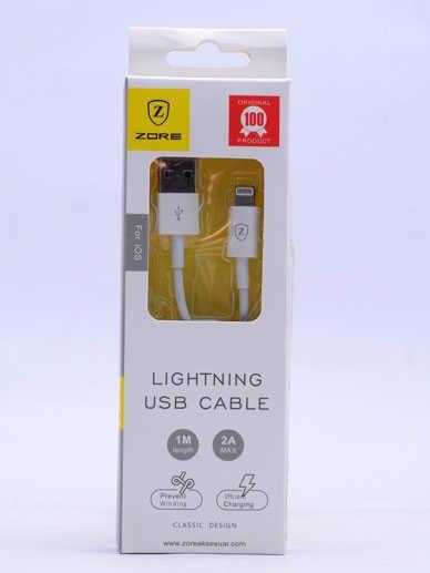 iPhone Lighting ZORE USB KABLO Z02