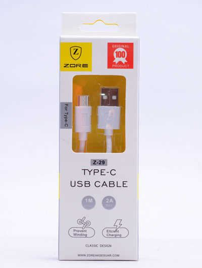 TYPE-C PRESS ZORE USB CABLE Z29