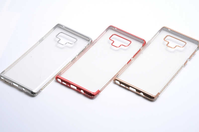 N960 Note 9 TEK SIRA TAŞLI SİLİKON