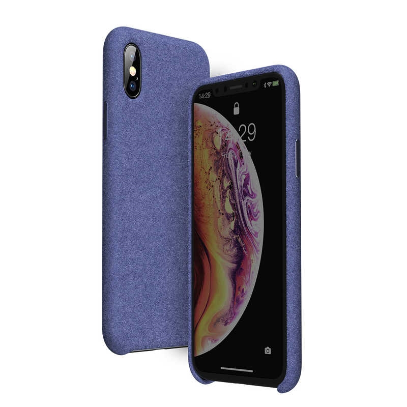 Baseus Original super fiber case For iP XS Max 6.5inch Blue WIAPIPH65-YP03