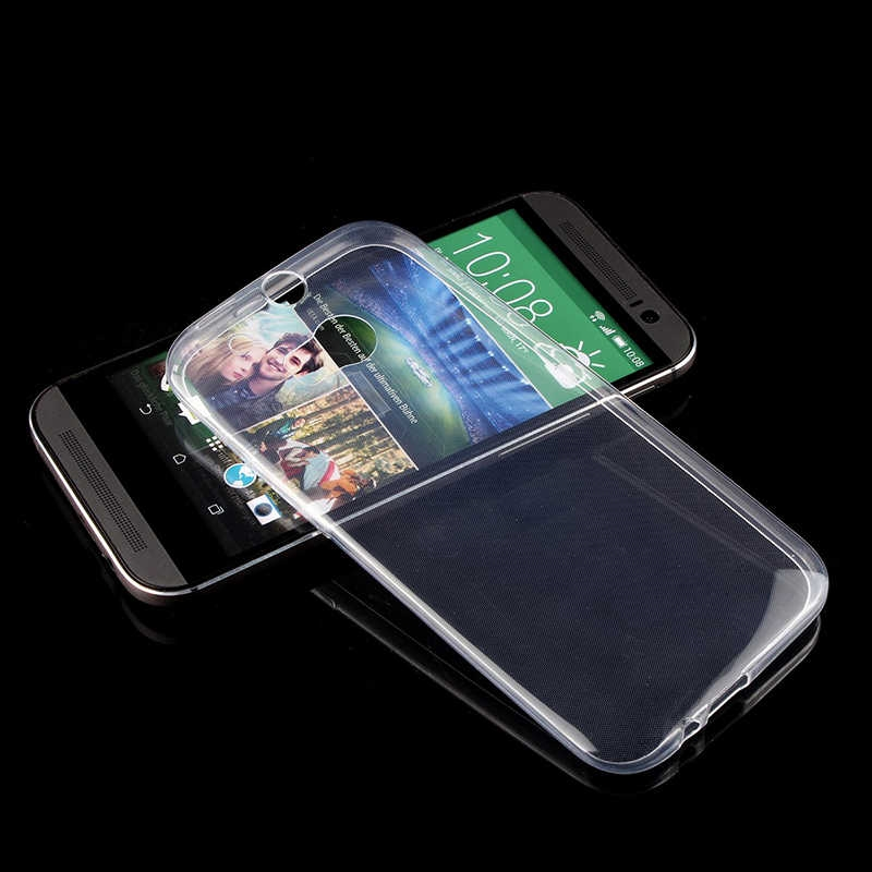 HTC ONE M8 Süper Silikon Koruma