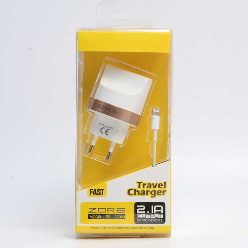 iPhone Tiger Lighting Charger Seti 2000 mAh ( 2 IN 1 )