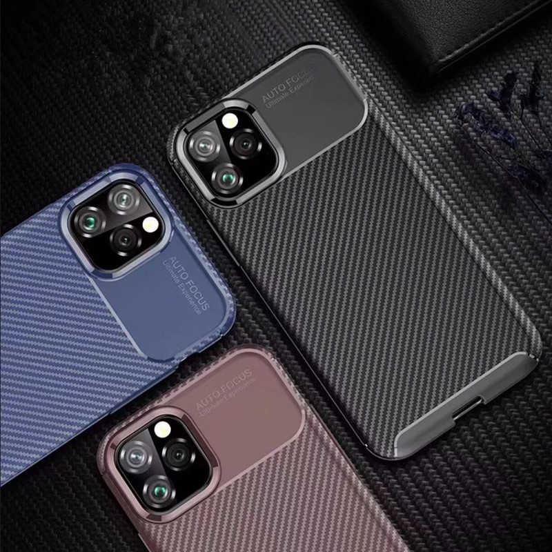iPhone 11 Pro Max Negro Silikon Koruma
