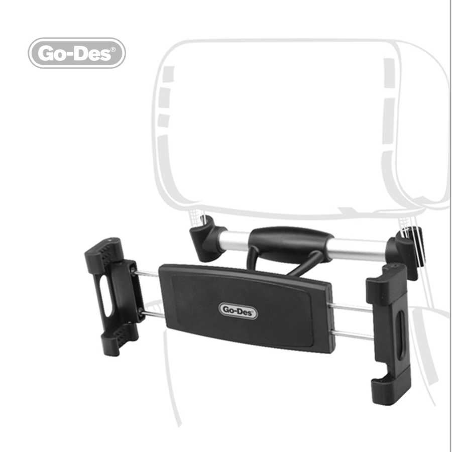 Go-Des GD-HD680 Magnetic Koltuk arkası Tablet Araç Tutucu Holder