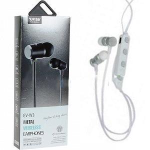 EVISU EV-W3 BLUETOOTH EARPHONES BUILT IN MAGNET