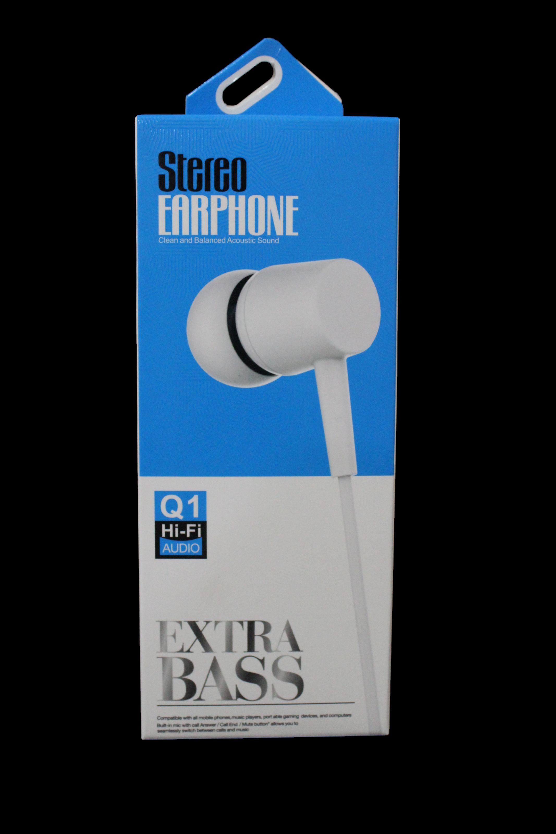 Hİ-Fİ STEREO EARPHONES UNIVERSAL KULAKLIK