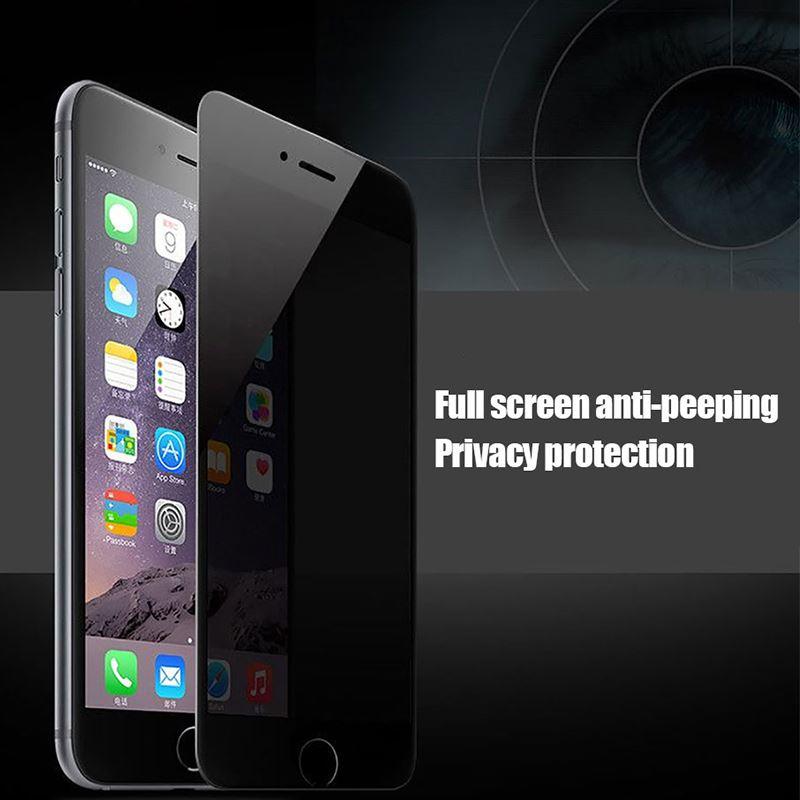 iPhone 8 Plus Kor Privacy Ekran Koruyucu ( Hayalet Cam )