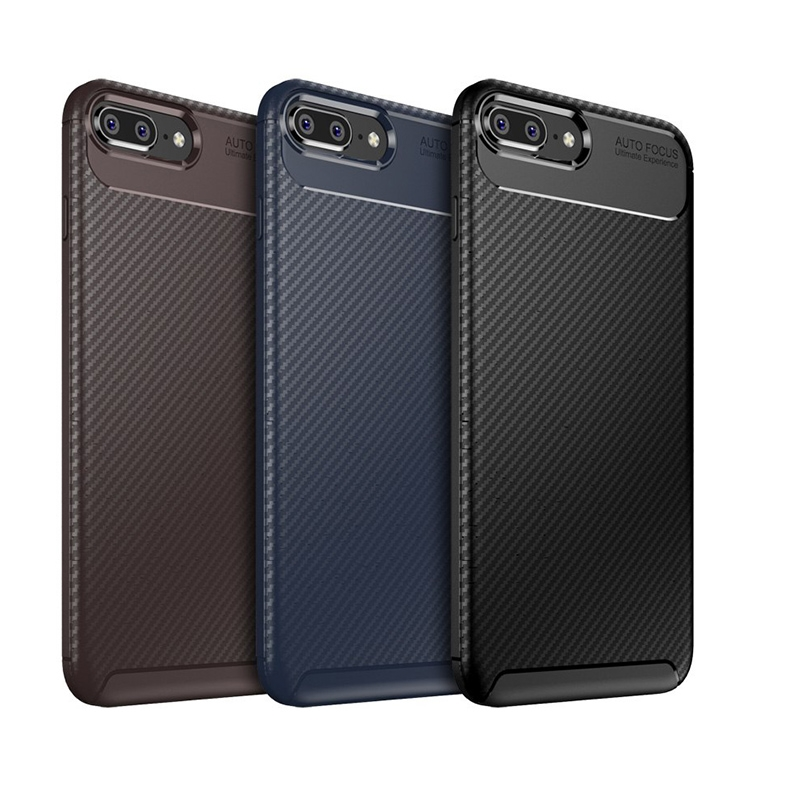 iPhone 6 Plus Negro Silikon Koruma