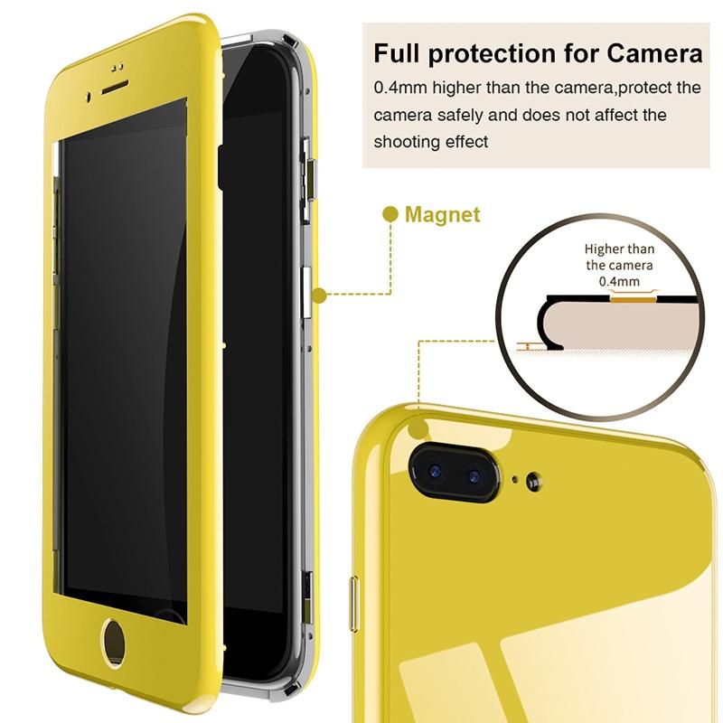 iPhone 8 Plus VOERO 360 MAGNET KAPAK
