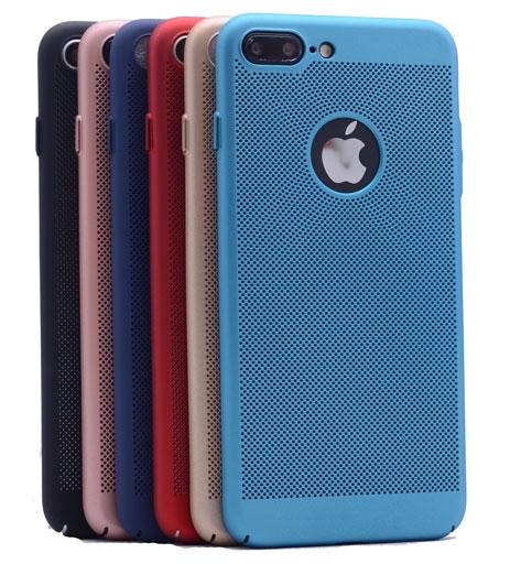 iPhone 8 Plus DELİKLİ RUBBER KAPAK