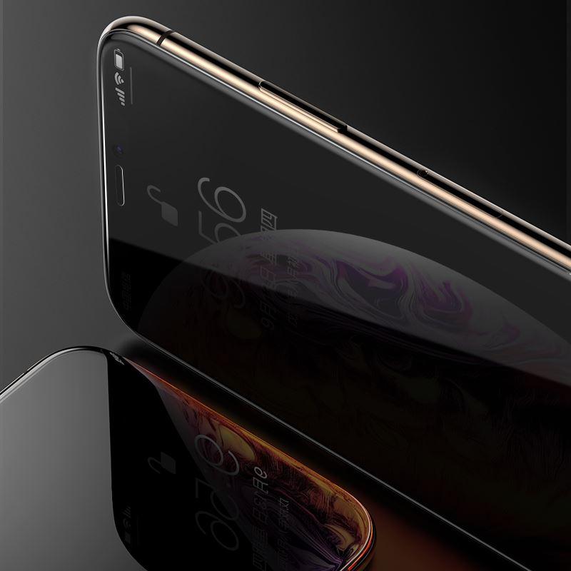 iPhone XS MAX Kor Privacy Ekran Koruyucu ( Hayalet Cam )