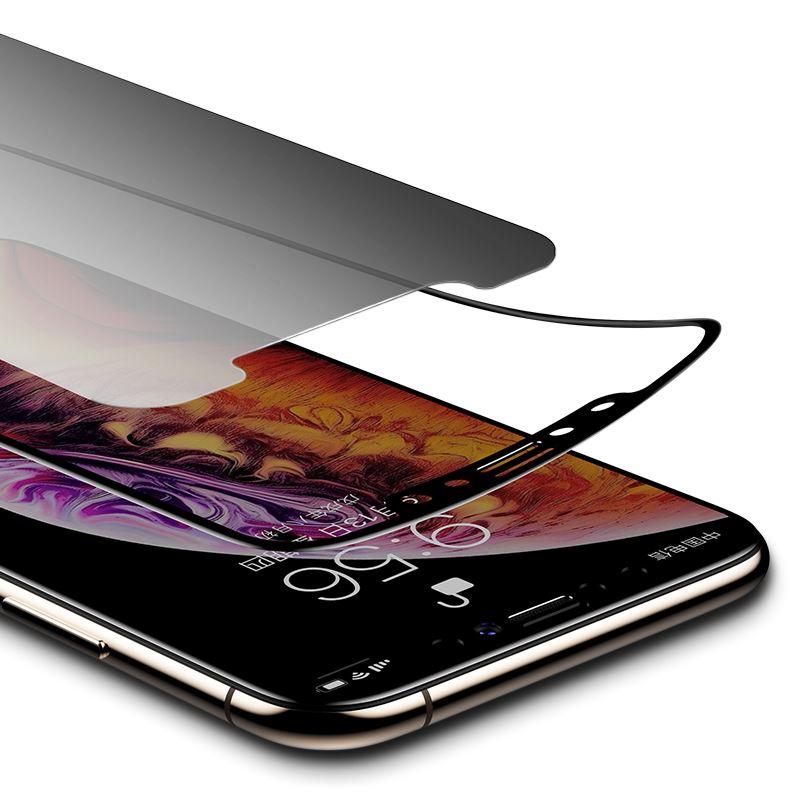iPhone X Kor Privacy Ekran Koruyucu ( Hayalet Cam )