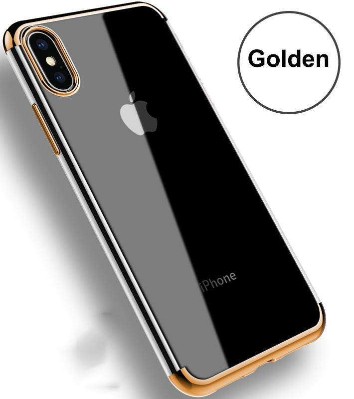 iPhone X DÖRT KÖŞELİ LAZER SİLİKON
