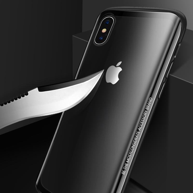 iPhone XS MAX EĞİMLİ CRAFT TEMPERLİ ARKA KORUMA