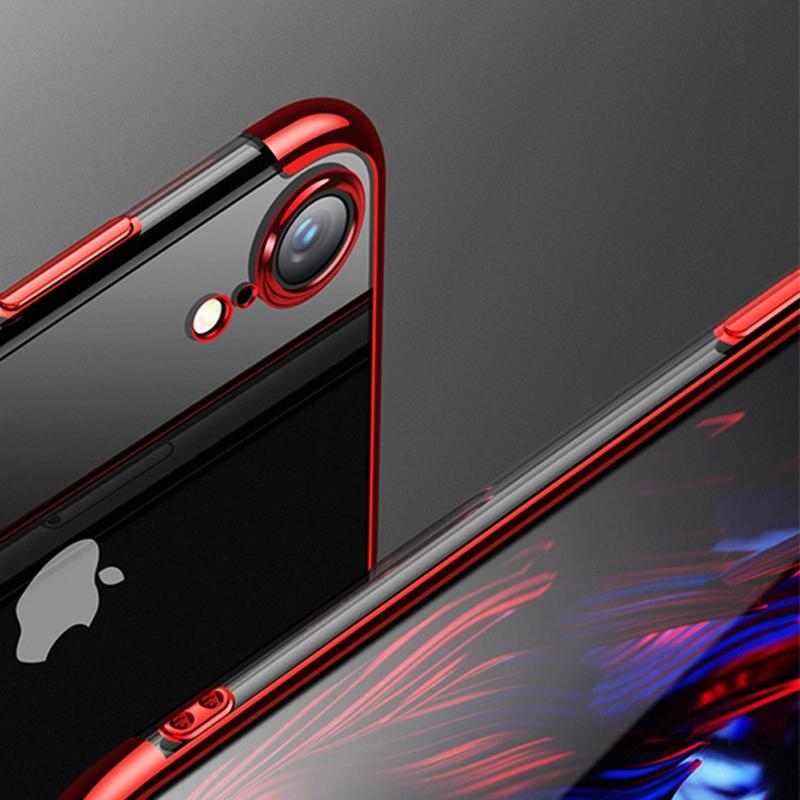 iPhone XR DÖRT KÖŞELİ LAZER SİLİKON