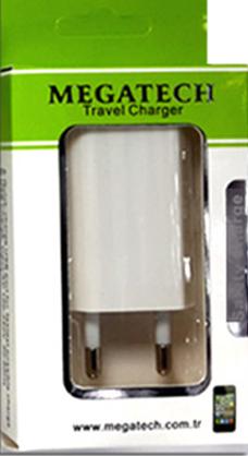 iPhone M.TECH UT302 USB ADAPTÖR 1000 mA