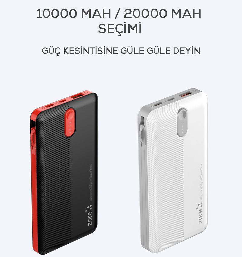 POWERBANK ZR-1013 10.000 mAh