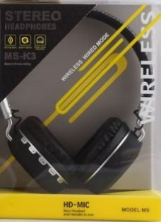 MSK3 BLUETOOTH KULAKLIK STEREO HEADPHONES