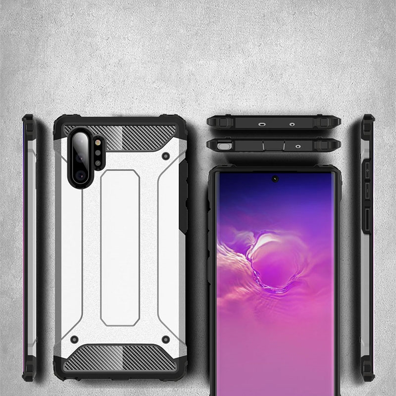 N975 Note 10 PLUS CRASH MOTOMO SİLİKON KORUMA