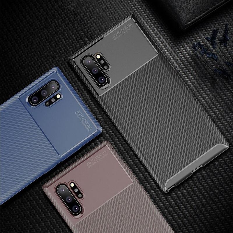 N975 Note 10 PLUS Negro Silikon Koruma