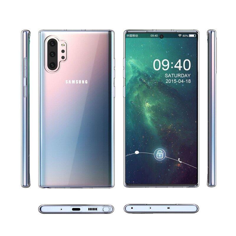 N975 Note 10 PLUS Süper Silikon Koruma