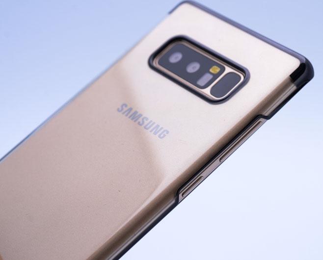 N950 Note 8 TAREKS ŞEFFAF ARKA KAPAK