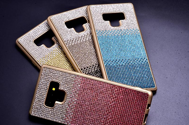 N950 Note 9 MAT LAZER TAŞLI SİLİKON