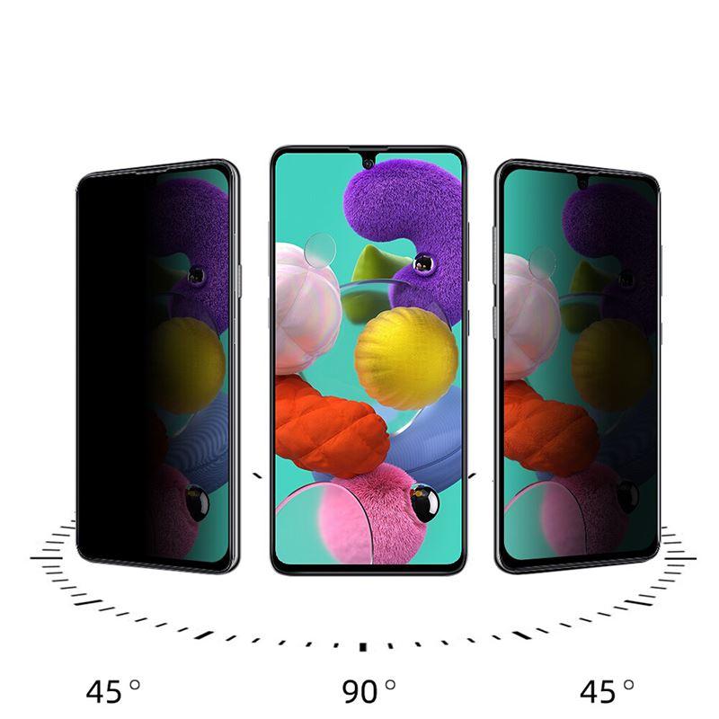 Xiaomi Redmi Note 9S Privacy 5D ( Hayalet ) Temperli Ekran Koruyucu